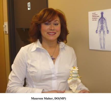 Maureen Hannah Maher, BA(Psych), DO(Qc), DOMP